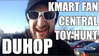 Duhop toy hunts in the WWE Fan Central Kmart Toy Hunt