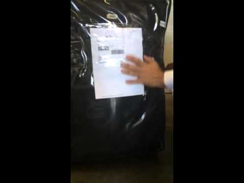 Secure FedEx label on bags using Packing tape only