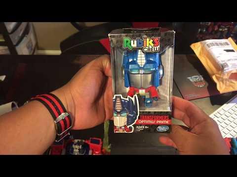 Rubik's Crew Cube Transformers Optimus Prime