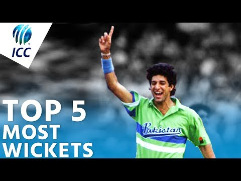 Xxx Mp4 The Most Wickets In World Cup History Top 5 Archive ICC Cricket World Cup 3gp Sex