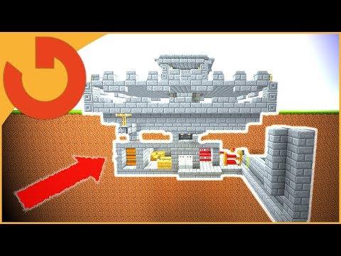 ✔ Minecraft: Worlds Most Defended Underground Bunker!