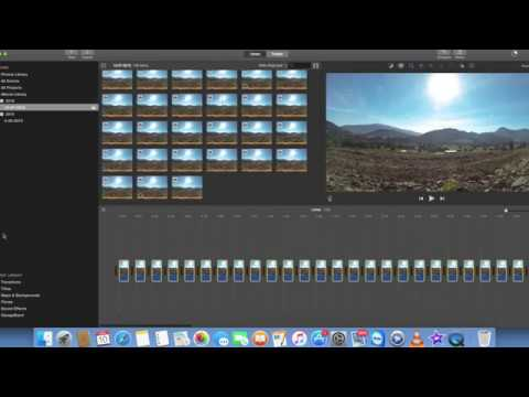 How to Make a Timelapse With IMOVIE (2018)EASY!!!!!