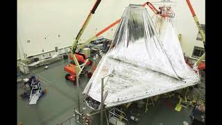 Highbay Integration Progress of NASA's James Webb Space Telescope (JWST)