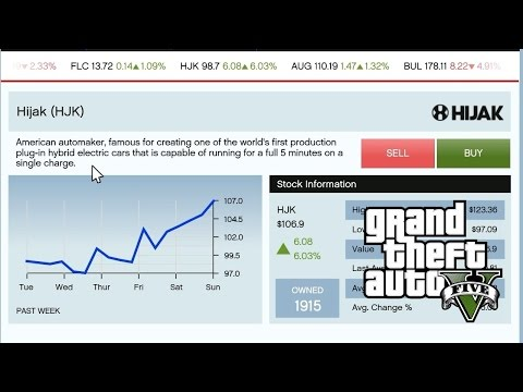 GTA5 PC First Person 1080p Part 7 - Safe Way To Earn Money on The Stock Exchange