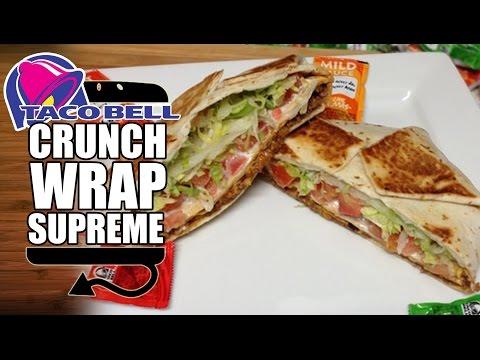 Taco Bell Crunchwrap Supreme Recipe Remake