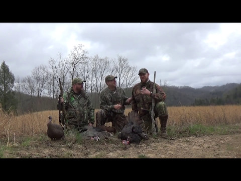 2017 West Virginia Turkey Hunt (Opening Morning Double)