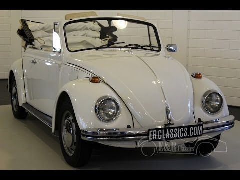 Volkswagen Beetle cabriolet 1968 rare 1500 model fully restored -VIDEO- www.ERclassics.com
