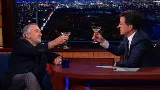 Robert De Niro Enjoys A Cold Martini And Silence, Full Interview