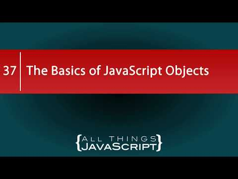The Basics of JavaScript Objects