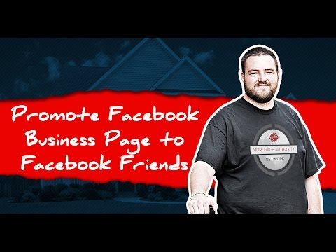 How Can I Promote a Facebook Business Page to My Facebook Friends