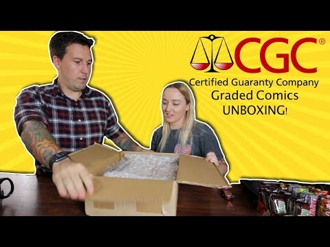Our first Graded CGC Comics Mail-away! (Unboxing at Farpoint Toys)