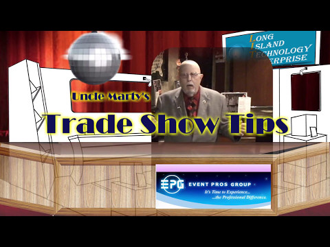 How to setup, act in, and get leads at a Trade Show Booth - Complete movie - Event Pros Group