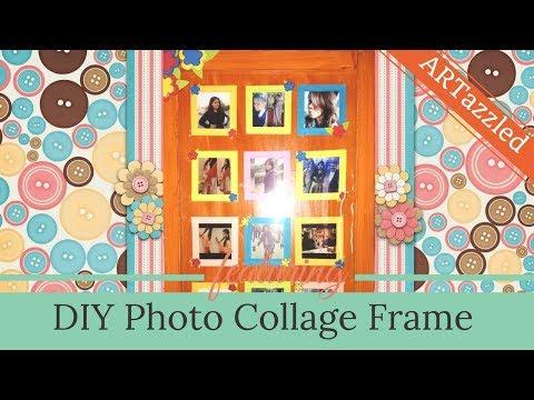 DIY Gift Idea (Photo collage frame)
