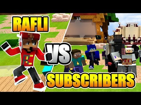 MABAR SKYWARS DI VENITY WITH SUBSCRIBERS - RAFLI VS SUBSCRIBERS !!! Minecraft Indonesia