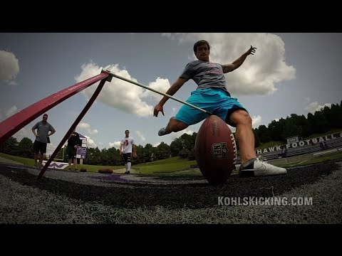 College & NFL/Pro Training | Kohl's Kicking Camps