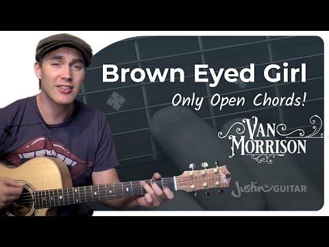 Brown Eyed Girl - Van Morrison (Easy Songs Beginner Guitar Lesson BS-304) How to play