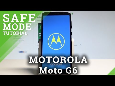 How to Enter Safe Mode on MOTOROLA Moto G6 - MOTO Safe Mode Tutorial  HardReset.Info