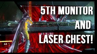 Destiny - How To Get The 5th Monitor / Laser Chest! (bianary Puzzle, Exotic Pulse Quest)