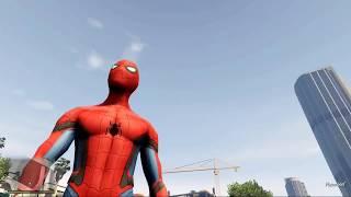 GTA 5 MODS - BEST SPIDERMAN MOD 2017