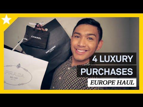 4 LUXURY PURCHASES! EUROPE HAUL (GUCCI, PRADA, SAINT LAURENT, CHANEL) - ohitsROME