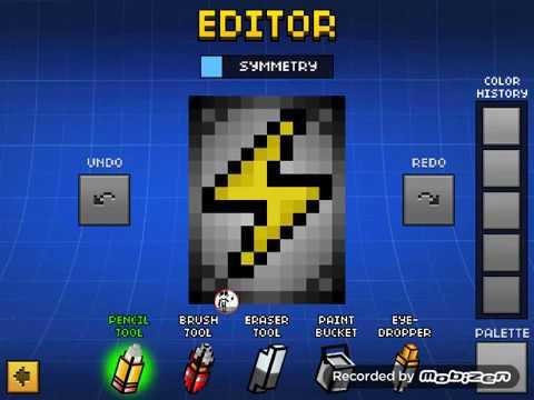 Pixel Gun 3D Cape Tutorial #1 Lightning Cape?!