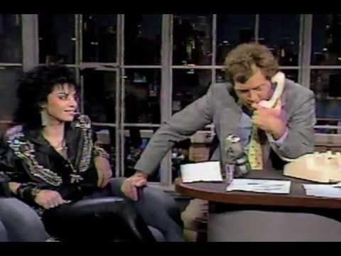 Letterman Joan Jett Performance Interview 1987