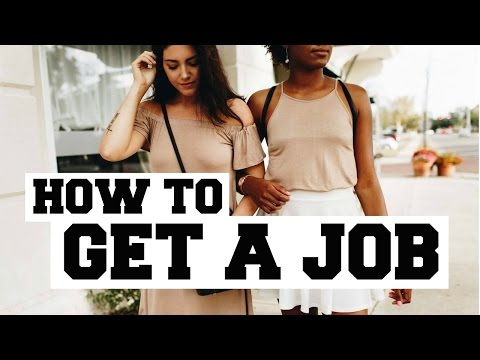 HOW TO GET A JOB AS A TEEN
