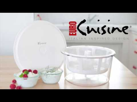 Euro Cuisine GY50 Greek Yogurt Maker / Strainer