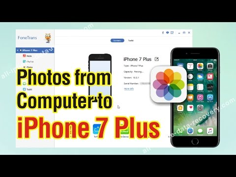 How to Copy Photos from Computer to iPhone 7 Plus in One Click