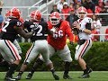 Jake Fromm Vs Georgia G Day Game 2019