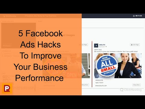 5 Facebook Ads Hacks To Improve Your Business Performance