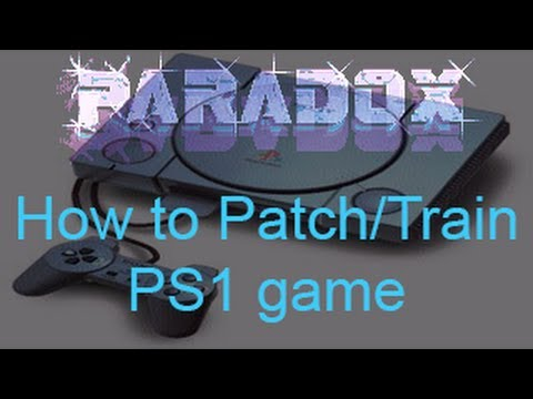 How to patch/train PS1 Game