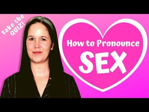 Xxx Mp4 HOW TO PRONOUNCE SEX American English Pronunciation Guide Rachel's English 3gp Sex