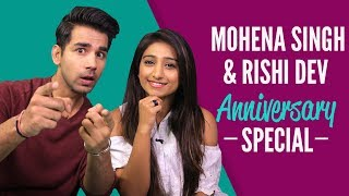 Mohena Singh और Rishi Dev ने खोले अपने Secrets| Yeh Risht Kya Kehlata Hai| Never Have I Ever