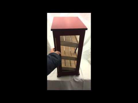 Cigar humidor Cabinet Smokegame MISTRAL Brown