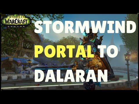 Stormwind Portal to Dalaran Legion (WoW - World of Warcraft)