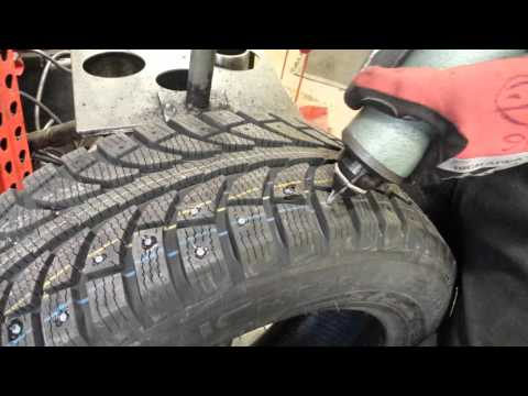 Studding Snow Tires