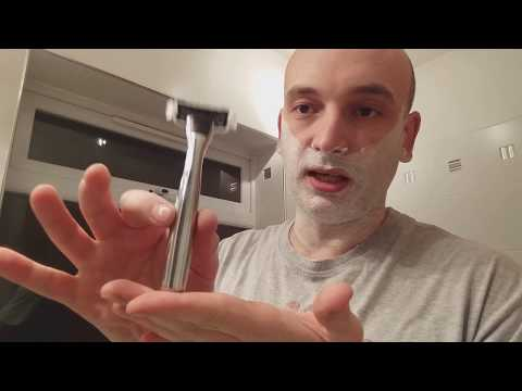 Chrome Handle Razor Shaving Review. Looks similar to Cornerstone razor but clearly not