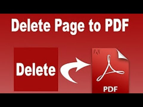 How to delete pages from PDF in PDF XChange Viewer