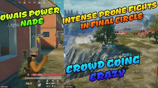 OP nade by Soul Owais, Intense fights happening in final circle, PMCO India finals day 2 match 1