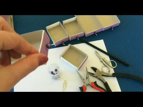 DIY - Craft.  How to make jewellery box at home