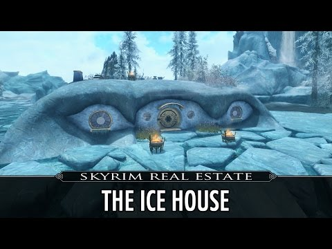 Skyrim Real Estate: The Ice House - Mage College Winterhold