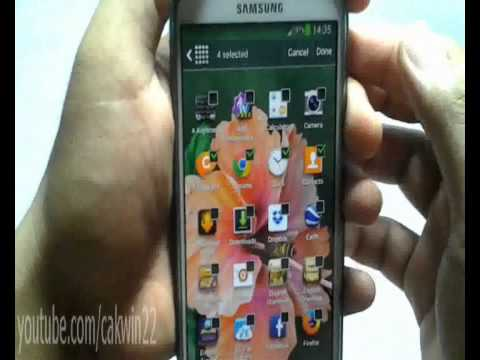 How to Hide or Unhide Apps or Games On Samsung Galaxy S4 Jelly Bean