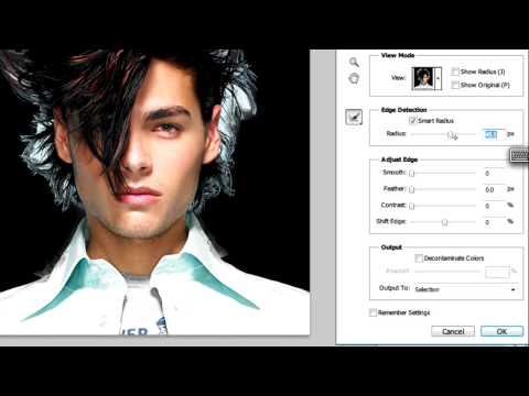 Photoshop CS5 Tutorial: Refine Edge Tool