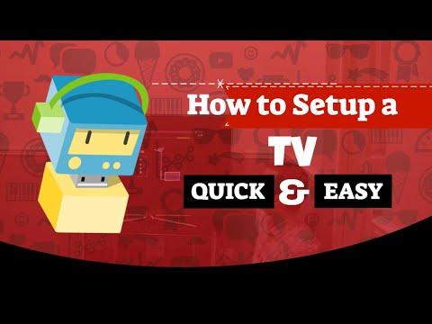 Quick TV Setup Guide.