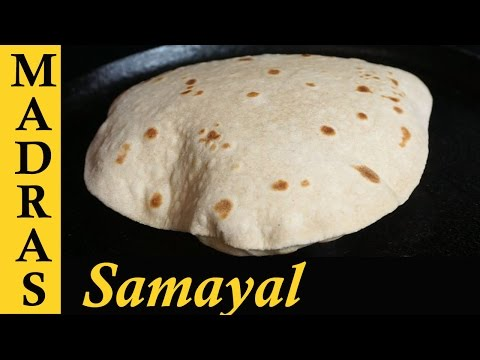 Chapati Recipe in Tamil | Soft Chapati Recipe in Tamil | How to make soft Chapati in Tamil