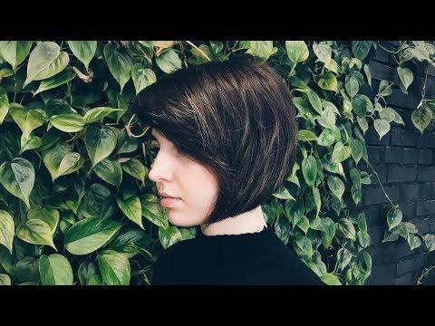 classic A-line bob haircut