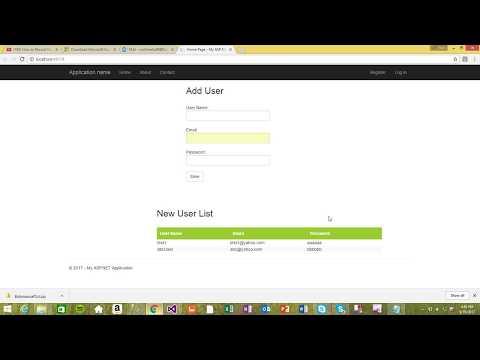 ASP.Net MVC jquery Ajax Tutorials Part 1