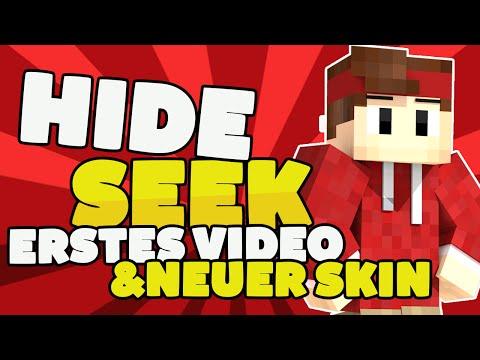 Minecraft Hide & Seek | Neuer Skin | Erstes Video | [HD-German] Plasent