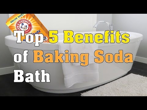 Top 5 Benefits of Baking Soda Bath | How To Improve Your Health